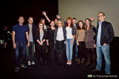 Dumni blogerzy Szczecin Aloud wraz z gośćmi seminarium. Fot. Przemysław Budziak