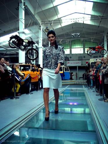 Pokaz mody ZPO Dana w Muzeum Techniki i Komunikacji