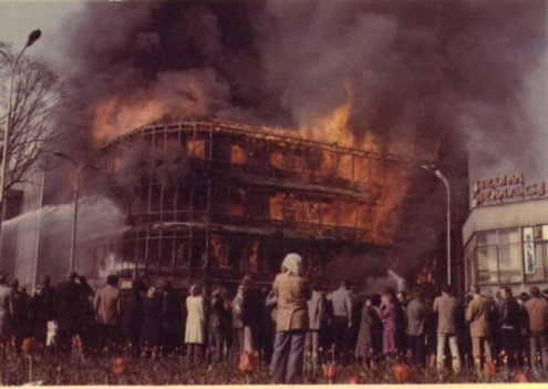Pożar Kaskady - 1981 r.