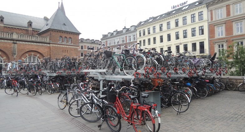 Kopenhaga parking rowerowy