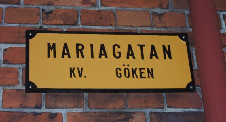 Mariagatan ulica Kurta Wallandera.