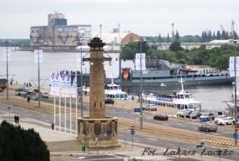 ORP Lech zacumował w Szczecinie