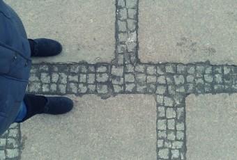 Patrz pod nogi, jesteś w Szczecinie!