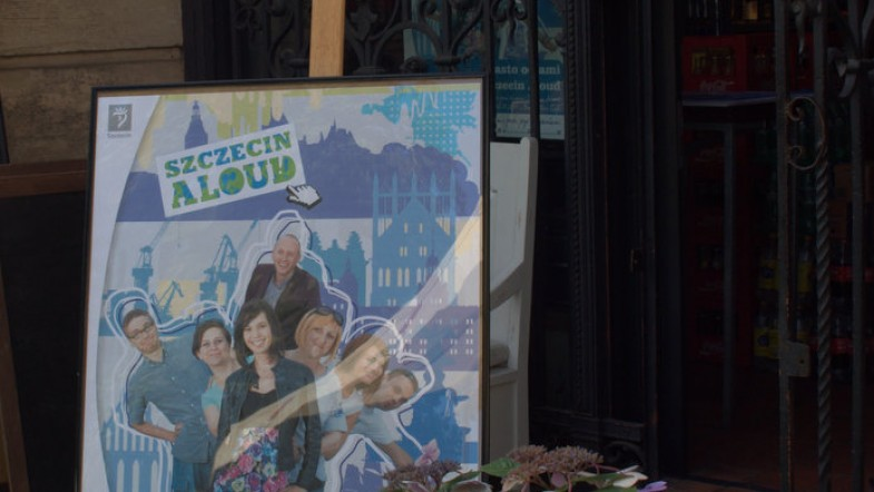 Wystawa prac blogerów Szczecin Aloud