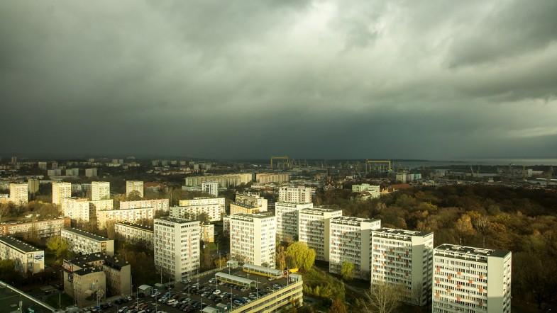 Listopadowy Szczecin