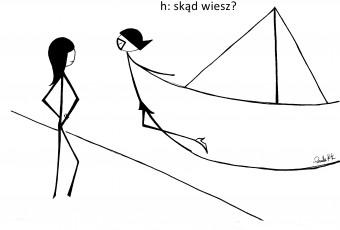 Wiatr w żagle i lecim na Szczecin