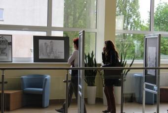 Wystawa prac studentów architektury