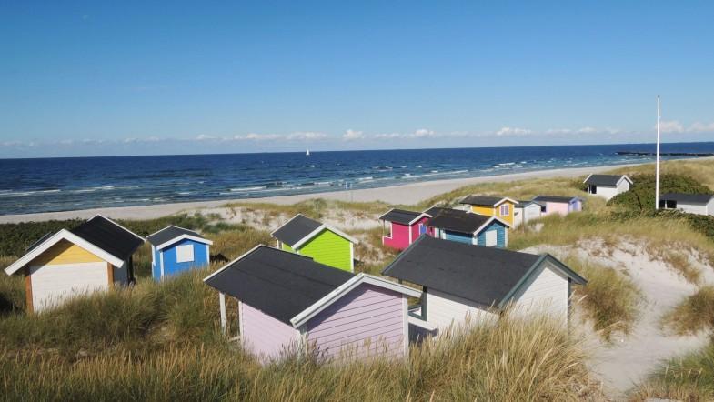 Pokaz slajdów z rowerowej podróży po bardzo południowej Skandynawii